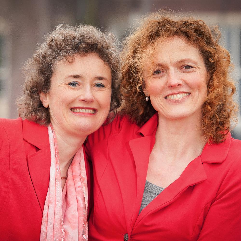 Petra Butler en Mariëtte Woudenberg